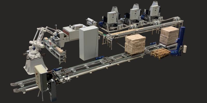 Automated Briquette Packing Machine APS-4